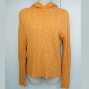 J Crew Long Sleeve Pullover Knit Sweater Hoodie
